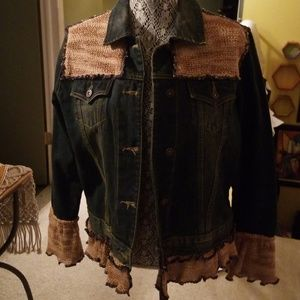 Contemporary Jean Jacket